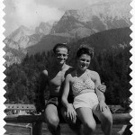 Jacob and Hildegard Hennenberg vacationing in Bavaria, Germany, in 1946.