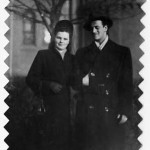 Jacob and Hildegard Hennenberg in 1946, Weiden, Germany