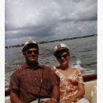 Jacob and Hildegard Hennenberg, vacationing in Florida.