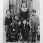 Hildegard Hennberg's (nee Hohnleitner) siblings. Pictured left to right: Kurt, Traudi, Inga, and Heinz.