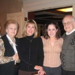 Michael, Hildegard, Susan, Debby, and Jacob Hennenberg at Beechmont Country Club, November 2005.