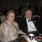 Jacob Hennenberg with his wife Hilde. September 2007 at Beechmont Country Club.