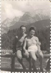 1946 Jacob and Hilde vacationing in Bavaria, GE 1946