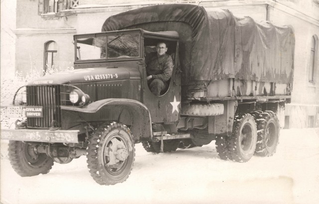 1946 truck jacob working for US Army in Weiden