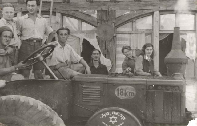 1946kibbutz nili 1946 near Nuremburg, GE