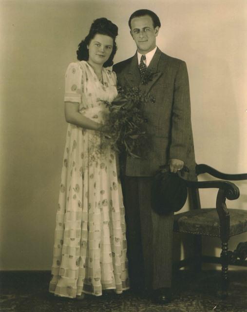 1947 Jacob Hilde Wedding April 5, 1947
