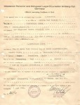 1948 Affidavit of Birth Germany 19 Feb 1948