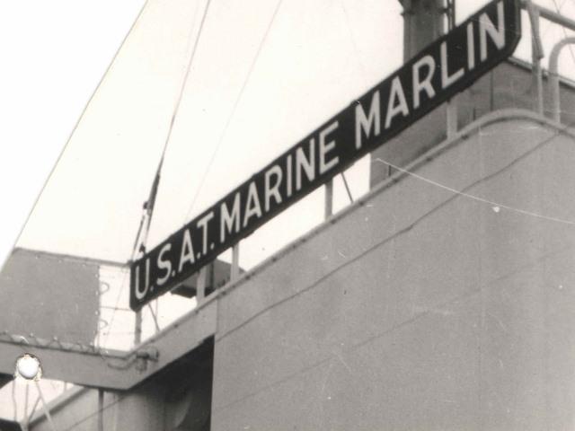 1949 Marine Marlin July 6 sailing date