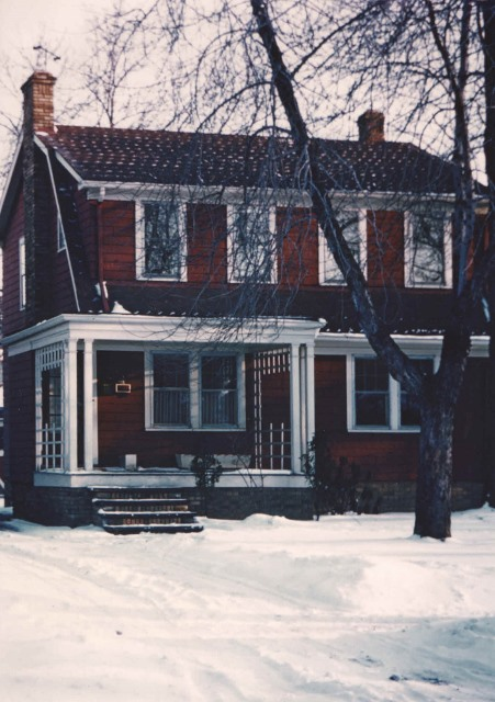 1958 The Hennenbergs Tullamore Road, Cleveland Heights, Ohio, home.