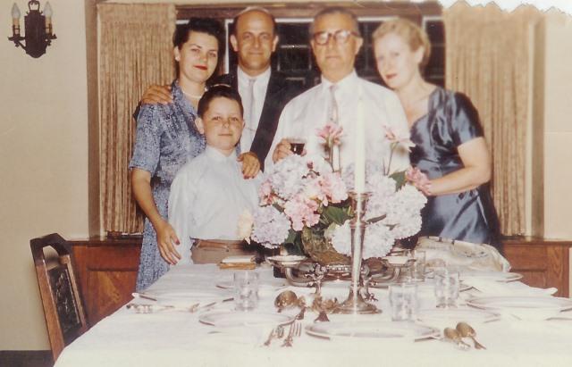 1959 zita dinner4-Shabbat - July 1959