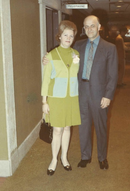 1969 Jacob and Hildegard Hennenberg.