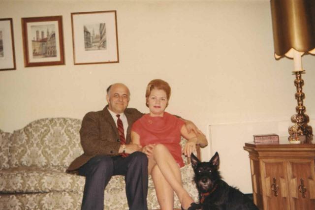 1969 Sept Jacob and Hildegard Hennenberg.