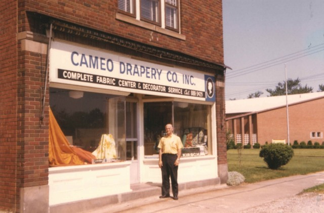 1970 Cameo Drapery September Parma Ohio store