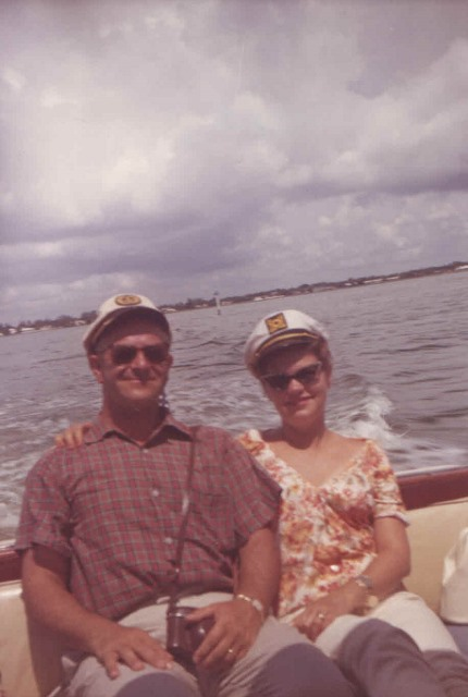 1970s Jacob and Hilde vacationing in Florida