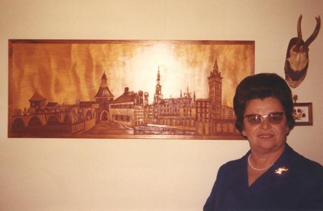 1971 Sister, Karola in Cleveland
