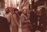 1980s Hilde and Zita in NYC Diamond District