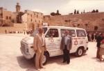 1981 Israel Kold Israel Cleveland Ambulance at Western Wall4 (640x441)