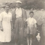 In Sibera fathers sister Tauba Bochner nee Hennenberg  mothers brother Yehoshua Bochner and their son Ben Zion Bochner  born c 1927