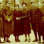 Jacob's older friends standing in polish army uniform c 1938