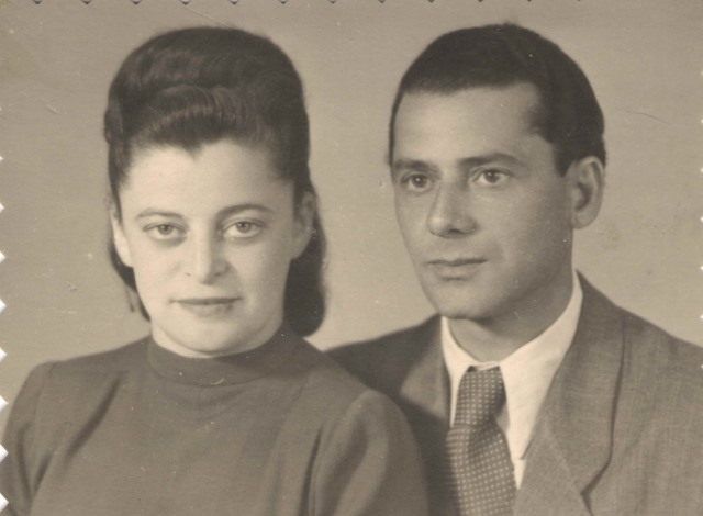 Karola and husband 1946