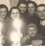 Karola second from left and her husband Grubner far right c1937 Celebration