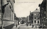 Mickiewicza Street with Hennenberg House on right, early 1900's.