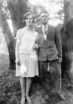 Cousin Zita Hennenberg-Plaut,  with her husband, 1930's