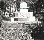 Oswiecim monument created out of broken markers
