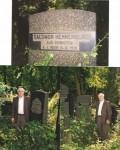 Solomon Nathan Hennenberg gravestone.  died Berlin Sept. 8 1931